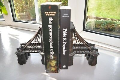 Restoration Hardware  Pair of Brooklyn Bridge Bookends Cast Iron