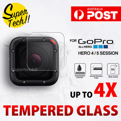 OZ Tempered Glass Screen Protector Cover for GoPro Hero 5 4 Session