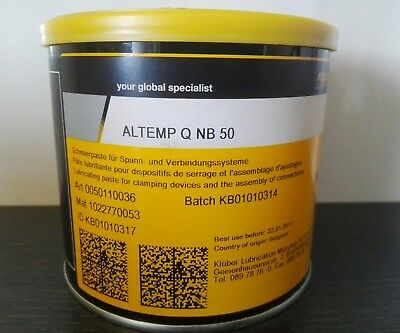 KLÜBER LUBRICATION ALTEMP® Q NB 50 750g Schmierpaste assembly paste NEU