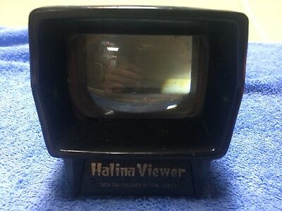 Rare halina slide viewer for photo slides .. rare item vintage