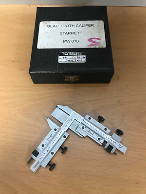Moore & Wright Gear Tooth Caliper, in Box