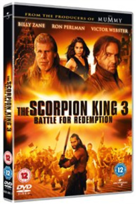 Krystal Vee, Selina Lo-Scorpion King 3 - Battle for Redemption  DVD NEW