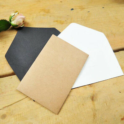 50 pcs Retro Blank Paper Envelopes Wedding Party Invitation Greeting Cards Gift