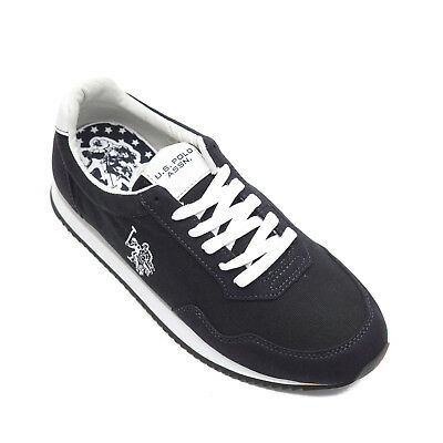 U.S. POLO ASSN. Canvas Sneakers Size 45 / UK 10 Contrast Lace-Up NOBIL4241S7/CH2