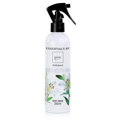 Essentials by ipuro Dufträume Raumspray white lily Duftspray 250ml (1er Pack)