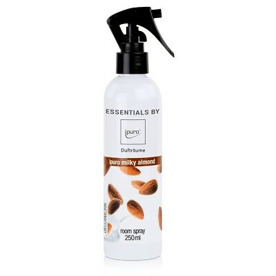 Essentials by ipuro Dufträume Raumspray milky almond Duftspray 250ml (1er Pack)