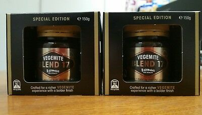 *** BUNDLE OF 2*** Vegemite Blend 17 150gm Made in Port Melbourne