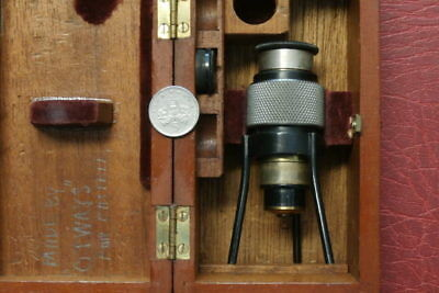 Castell & Co , London , W.c.i , Microscope ?