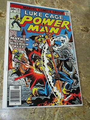 Luke Cage Power Man #39 Early Bronze Age Marvel Appearance $.99 Auction