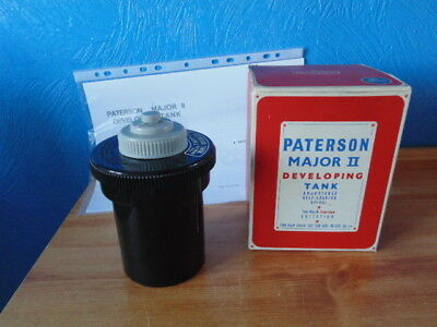 Paterson Major Ii Developing Tank. Boxed With Instructions