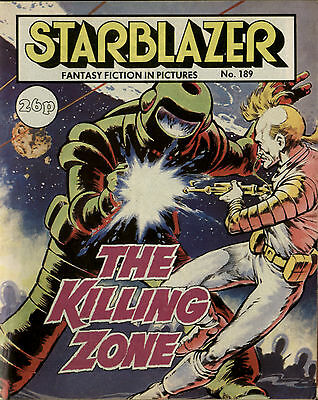 The Killing Zone,starblazer Fantasy Fiction In Pictures,no.189,comic,1987