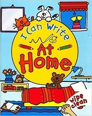 Wipe Clean Activity Book: I Can Write: At Home - Early Learning Children's