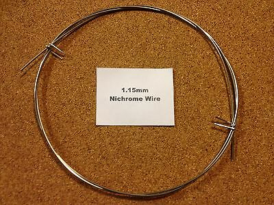 1.15mm x 1m 18SWG Nichrome Wire Resistance Heating Element Hot Foam Cutting