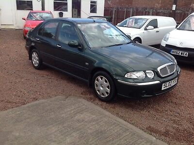 "2002 Rover 45 Impression 2 ""1 Family Owner"". Only 13,000 Miles"