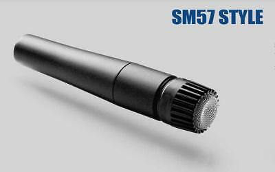 Handheld Dynamic Microphone Precision Wired Single For Stereo Instrument Devices
