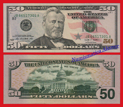 ESTADOS UNIDOS USA 50 dolares dollars 2009 B NEW YORK Pick 534 SC / UNC