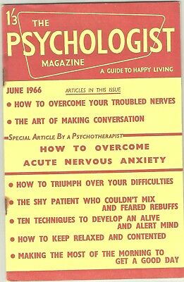 PSYCHOLOGIST MAGAZINE-GUIDE TO HAPPY LIVING-Jun1966- Art of Conversation etc-