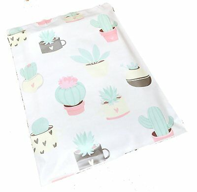 100 10x13 Succulents Designer Mailers Poly Shipping Envelopes Boutique Bags