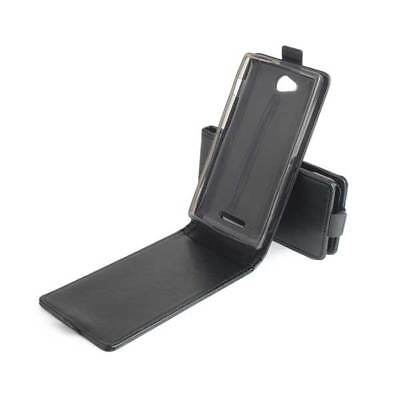 Up-Down Filp Leather Protective Case For Sony S39h/Xperia C/C2305