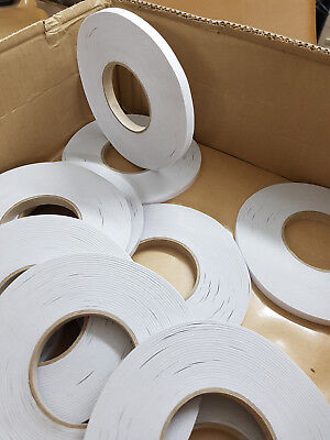 Double Sided Tissue Tape 12mm wide x 100mtr Roll, Free postage UK mainland
