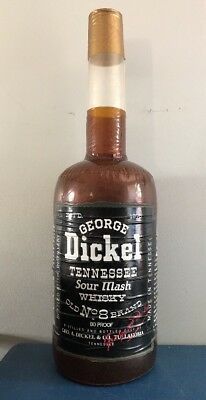 (L@@k) George Dickel Tennessee Whiskey Inflatable Whiskey Bottle 80 Proof