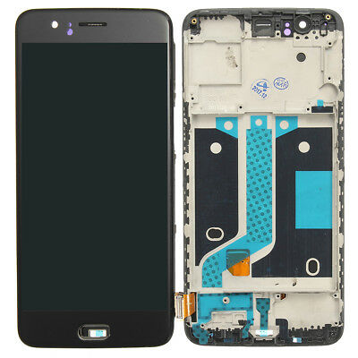 LCD Display Touch Screen Digitizer + Frame Replacement With Tools For OnePlus 5