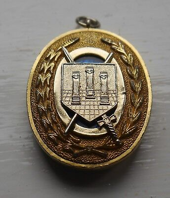 Vintage Masonic Owf Grand Rank Collar Jewel O.w.f.