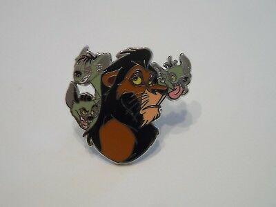 Scar with Hyenas from Lion King Disney Villains Disney Trading Pin!