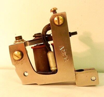 MARV LERNING tattoo machine workhorse irons not soba ciferri pike micky sharpz
