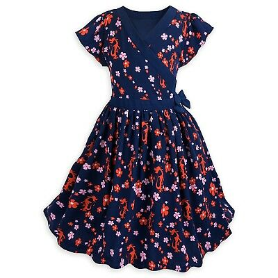 DISNEY Store DRESS for Girls MUSHU - Mulan Pick Size NWT