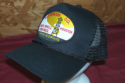 John Wayne Hellfighters Cap Hat Red Adair Oil Field Well Blowouts Firefighting 2
