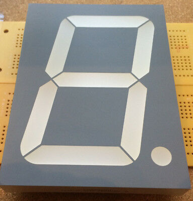 7-Segment LED Display CC Red 250mcd SC40-19SURKWA 101mm Grey Multi Qty
