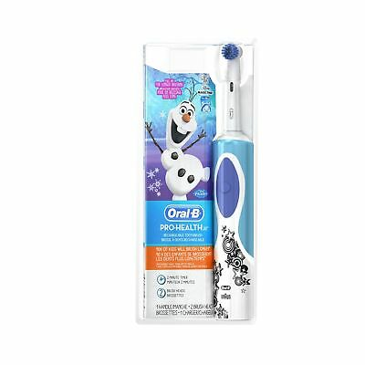 Oral-B Kids Electric Rechargeable Power Toothbrush Featuring Disney's Frozen,...