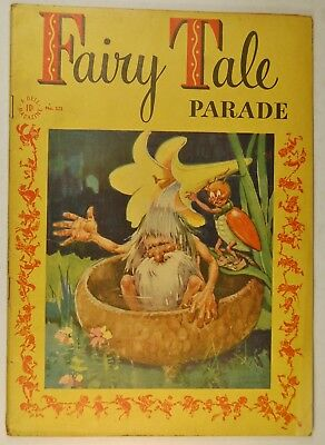 "Four Color #121 - Fairy Tale Parade (Oct 1946, Dell) ""The Dragon Knight"""