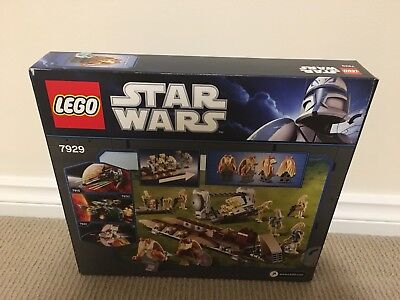 LEGO 7929 Star Wars The Battle of Naboo NEW (discount when sold with LEGO 7662)