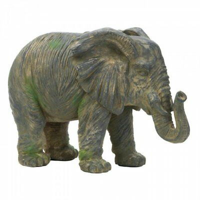 Accent Plus Weathered Elephant Statue