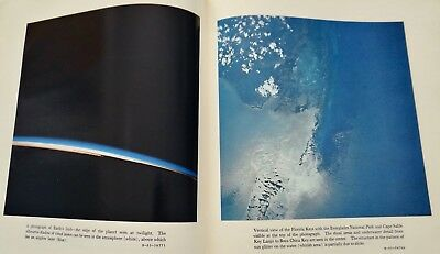 1967 Earth Photographs Gemini III IV V NASA World Color Images From Space HB