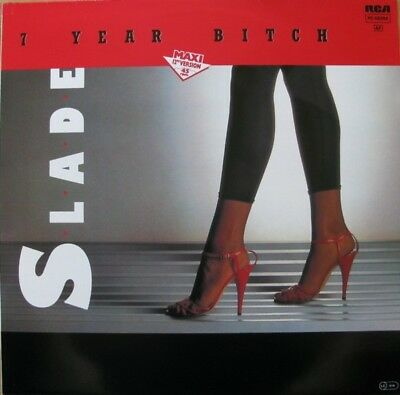 Slade 7 Year Bitch Vinyl Single 12inch NEAR MINT RCA