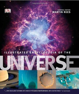 DK Illustrated Encyclopedia of the Universe by DK Hardback Book The Cheap Fast