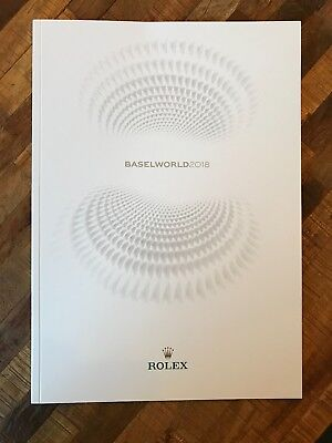 ROLEX BASELWORLD 2018 CATALOG of New Releases, new, mint