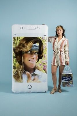 One-of-a-kind SIGNED Cindy Sherman Oops Phone Pool Float benefiting + POOL