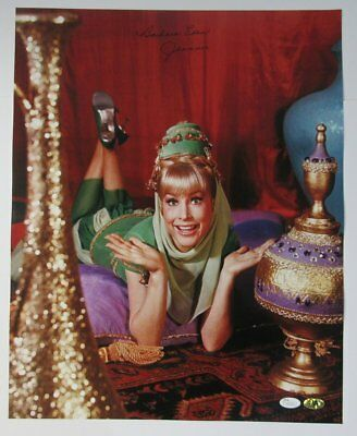 """Barbara Eden """"I Dream of Jeannie"""" Autographed/Signed 16x20 Photo JSA 136903"""