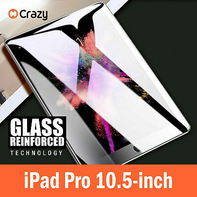 """CRAZY Tempered Glass Screen Protector For Apple iPad Pro 10.5"""""""
