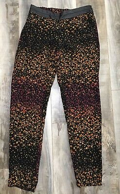 006c856dff Jessica Simpson Floral Pull On Jogger Casual Pants Womens Size Small