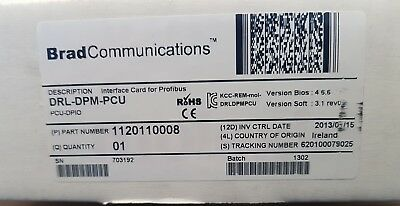 New Sealed box Brad Communications Molex DRL-DPM-PCU. €1000 net price
