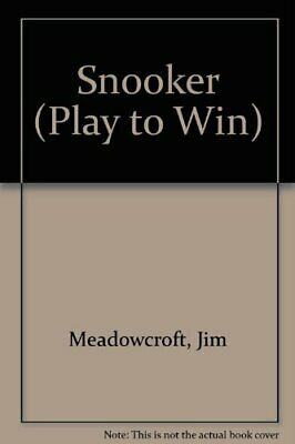 Snooker (Play to Win) by Hennessey, John Paperback Book The Cheap Fast Free Post