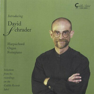 Introducing David Schrader -  CD 5YVG The Fast Free Shipping