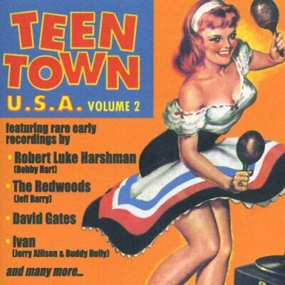 Various - Teen Town U.S.A. Volume 2 - Various CD 8RVG The Fast Free Shipping