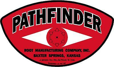 PathFinder sticker for root manufacturing company