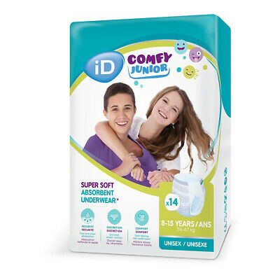iD Comfy Junior Pants (8-15 Years) - Pack of 14